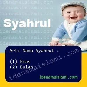 arti nama Syahrul