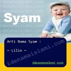 arti nama Syam