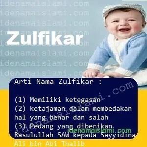 arti nama Zulfikar