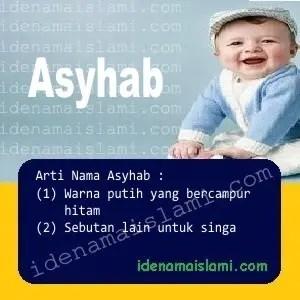 arti nama Asyhab