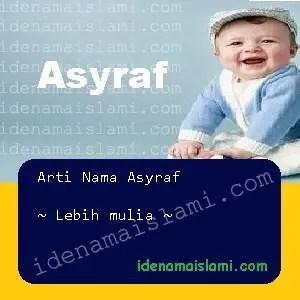 arti nama asyraf