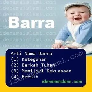 arti nama Barra
