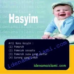 arti nama Hasyim