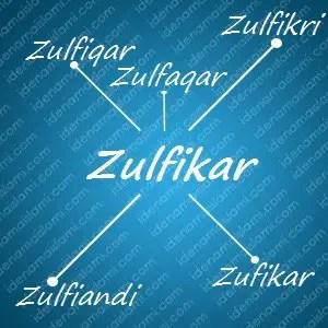variasi arti nama Zulfikar untuk nama bayi laki laki islami