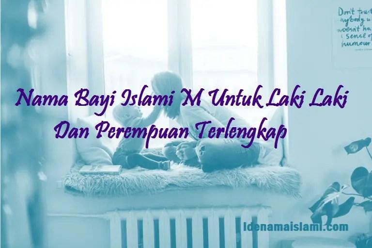 Nama Bayi Islami M