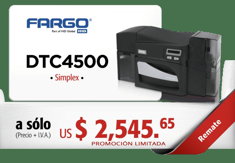 REMATE-FARGO-DTC4500-SIMPLEX