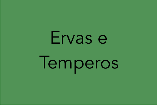 Identificação de Plantas - Ervas e Temperos