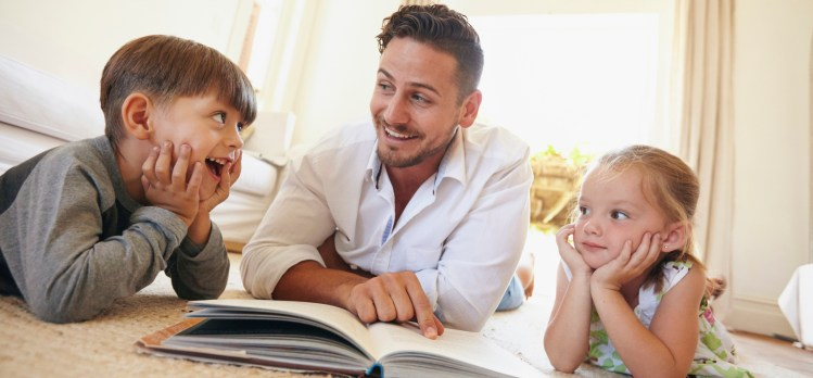 The Merits of Reading Real Books to Your Children