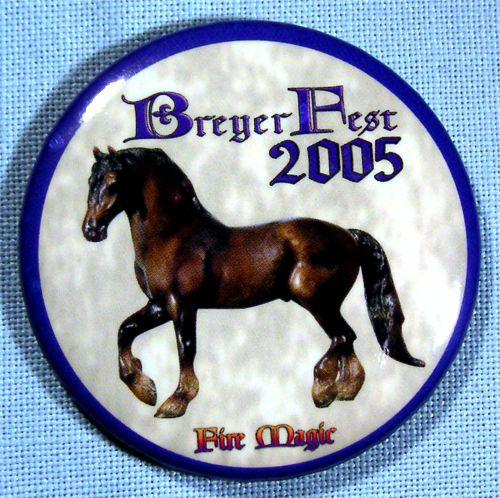 Identify Your Breyer Breyerfest 2005 Models