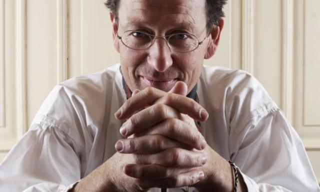 Michil Costa, patron dell'Hotel La Perlae del ristorante stellato La Stüa de Michil