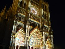 Cathédrale d'Amiens en couleurs