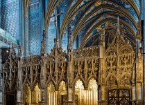 Albi cathedrale cheur