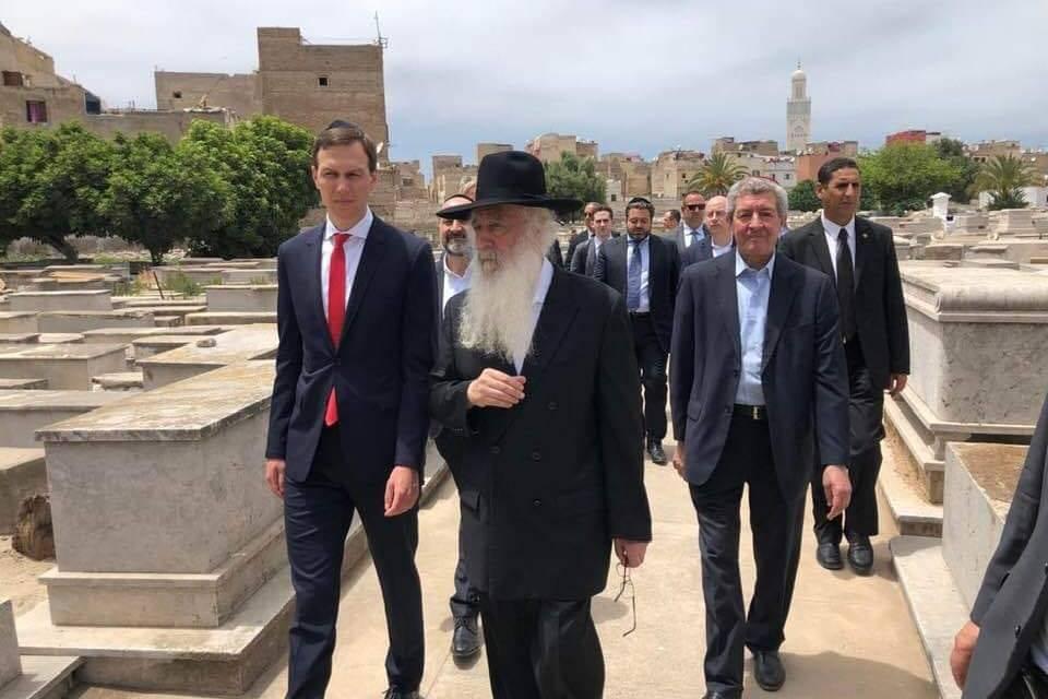 Le gendre et conseiller de Donald Trump, Jared Kushner, fait son pèlerinage chez Rabbi 'Haim Pinto à Casablanca