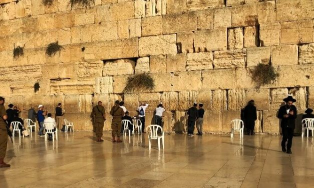 Visitez le Mur Occidental: Aucune autorisation spéciale n'est requise