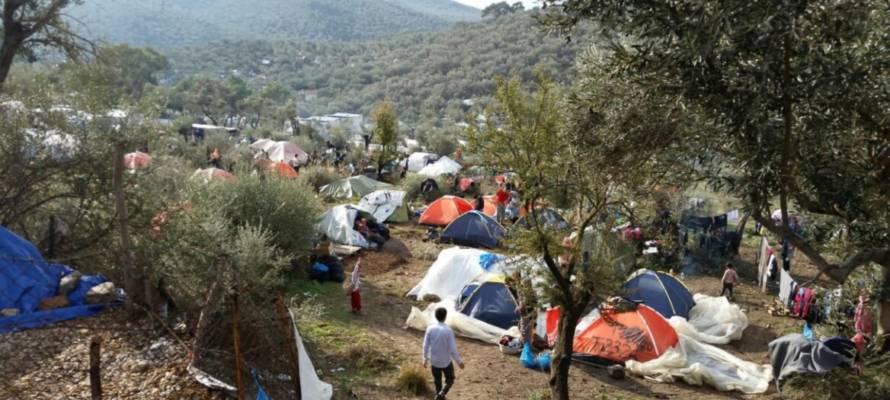 Une ONG israélienne s'empresse d'apporter son aide après l'incendie dévastateur du camp de réfugiés de Lesbos