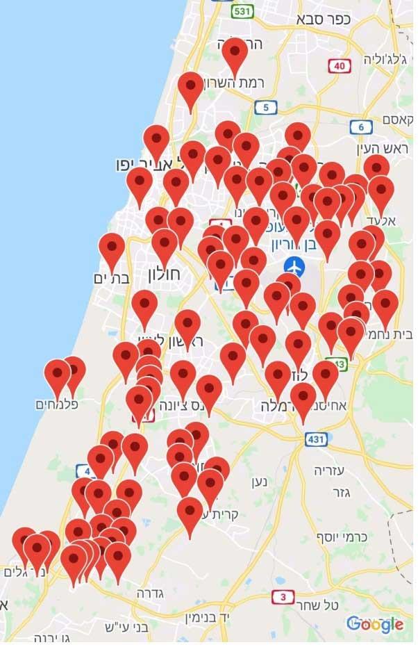 Des centaines de roquettes Palestiniennes sont lancées sur Israel chaque jour 15.05.21