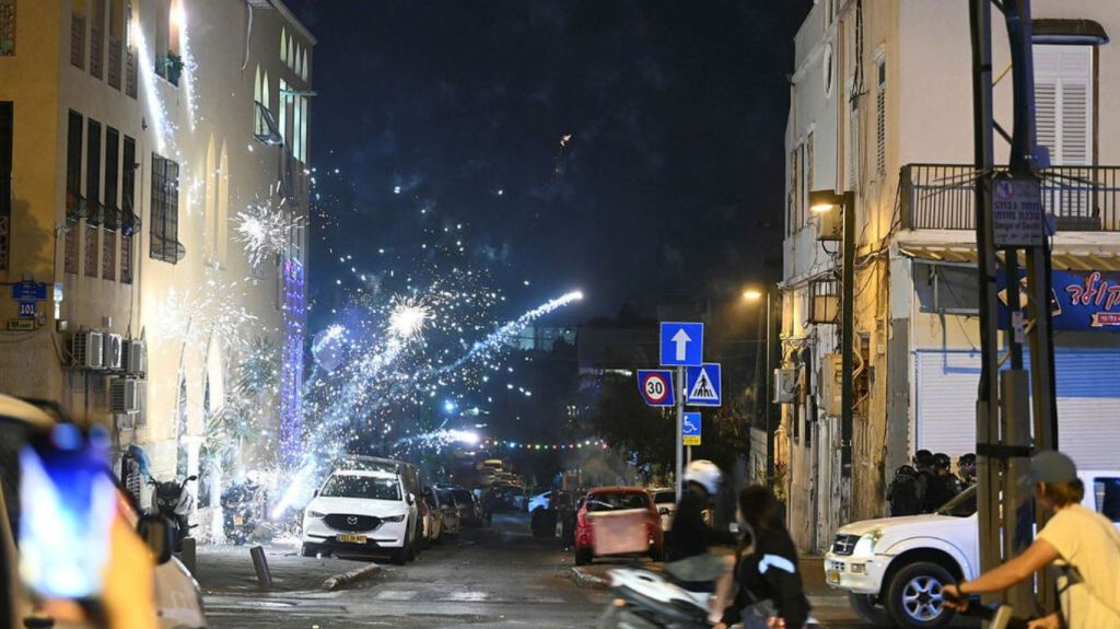 Troubles à Jaffa (Photo : Yair Sagi)