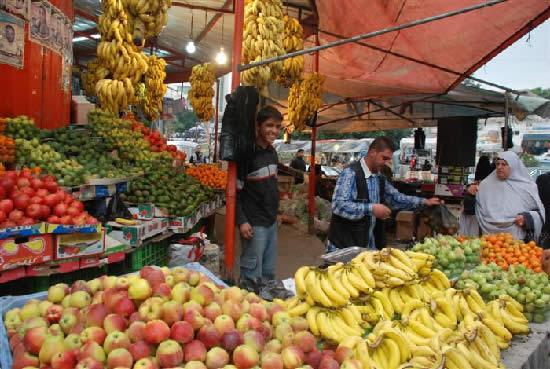 Ville de Gaza affamee