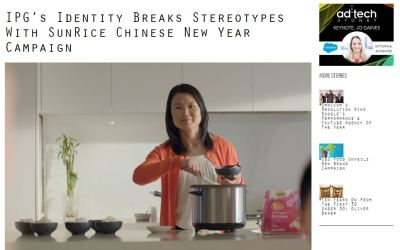 IPG's Identity Breaks Stereotypes With SunRice Chinese New Year Campaign