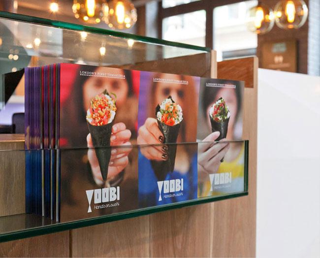 Yoobi leaflets