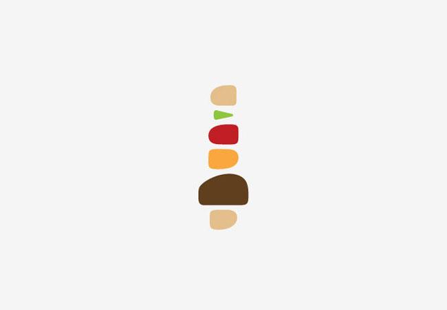 The Burger Map symbol