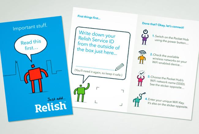 Relish brand identity