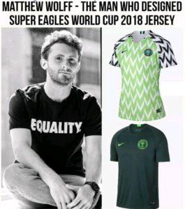 super eagles jersey designer