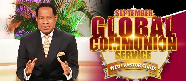 september global communion service