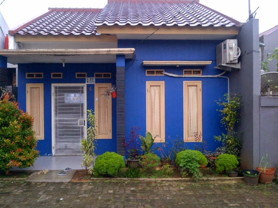 740+ Gambar Rumah Cat Biru Laut HD