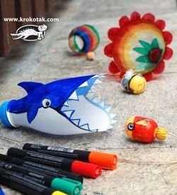 32 Ide Daur Ulang Botol Plastik Jadi Mainan Anak
