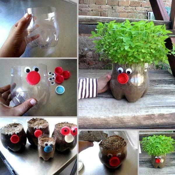 tanaman hias dari botol plastik bekas - IDEPROPERTI.COM