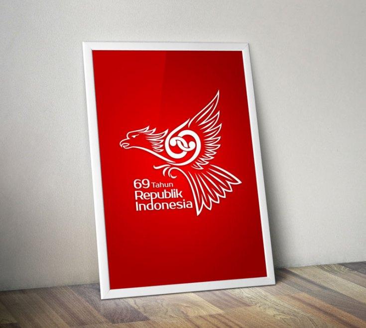 Logo HUTRI ke-69 Poster