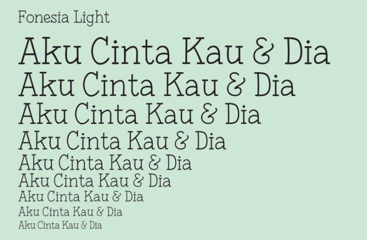 fonesia-light