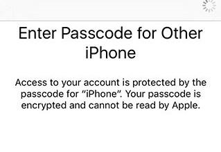 icloud passcode 9.3