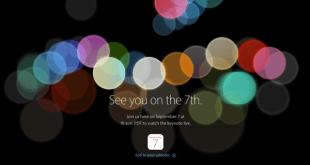 Apple Keynote 7 September: