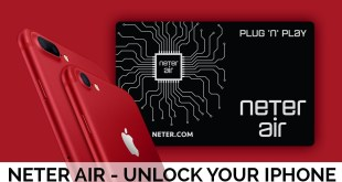 Neter Air unlocks all latest iPhones