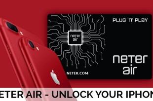 Neter Air unlocks all latest iPhones