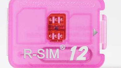 R SIM 12 Unlock iphone iOS 11 LTE 4G