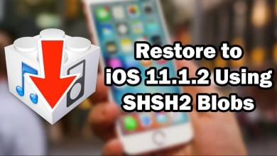 Restore iOS 11.1.2 Back to iOS 11.1.2 Using SHSH2 Blobs