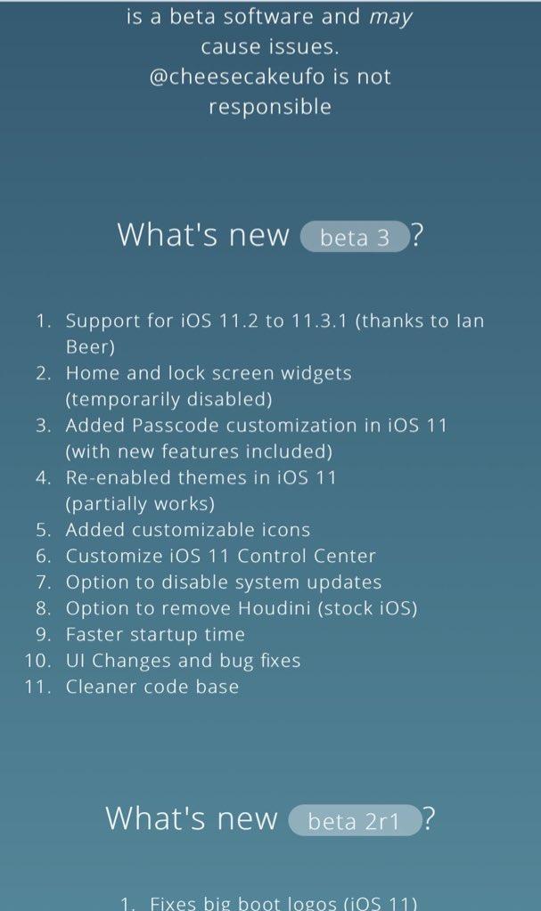 Download Houdini11 semi-jailbreak for iOS 11-11.3.1