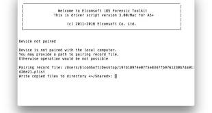 Elcomsoft iOS Forensic Toolkit 4.10