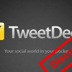 RIP Tweetdeck Mobile