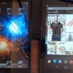 Google App di iPad Mini vs Nexus 7