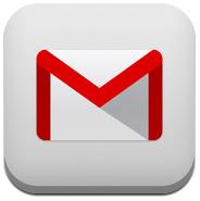 Logo GMail untuk iOS