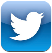 Logo Twitter untuk iOS