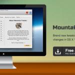 Mountain Tweaks untuk OS X