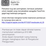 iOS 7.0.4 update iPhone 5