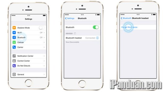 iPhone 5s, bluetooth, trik iPhone