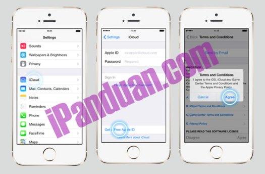 iOS 7, iCloud, iPhone 5s