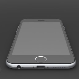 Gambar Render Digital iPhone 6 karya Mark Pelin ~ 2